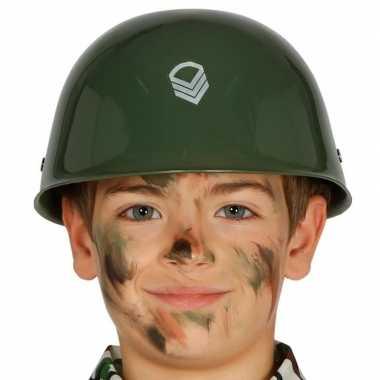 Amerikaanse soldaten helm voor kinderen