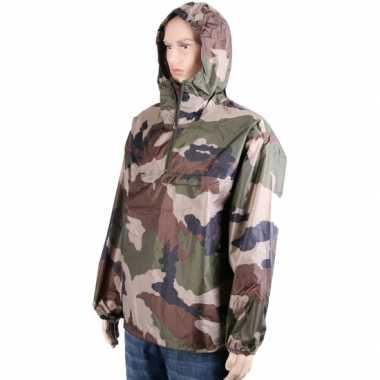 Camouflage regenjassen