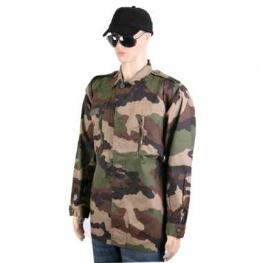 Camouflage ribstop zomerjas