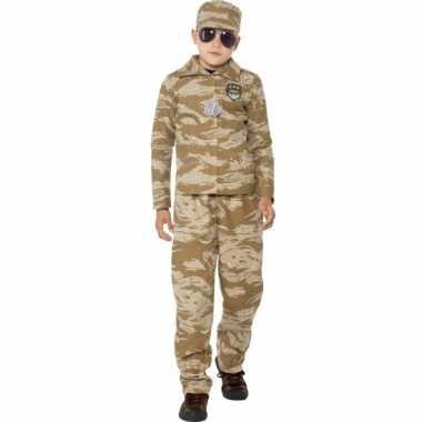 Desert leger pak voor kinderen