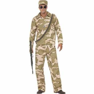 Desert trooper verkleedkleding voor heren