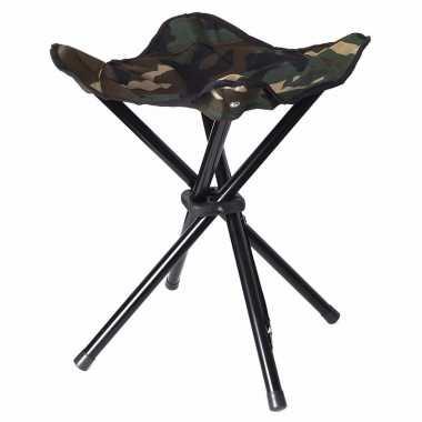 Inklapbare camping stoel/kruk