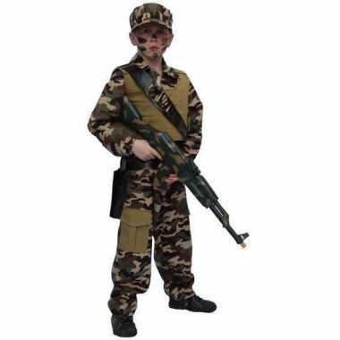 Leger soldaten pak kind