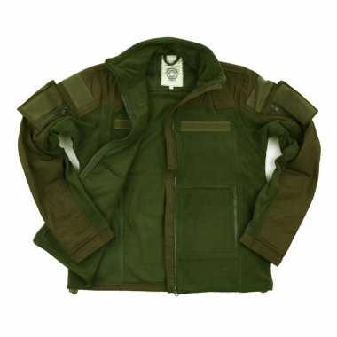 Legergroen vest voor heren combat model
