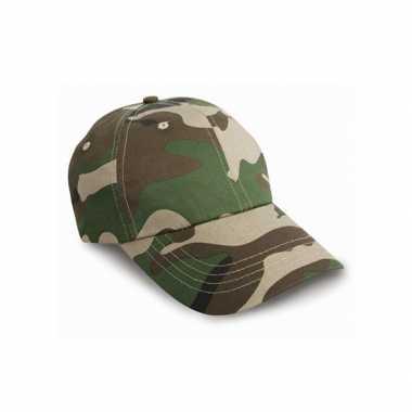 Legerpet camouflage woodland