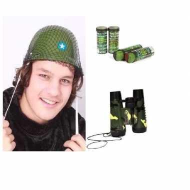 Soldaten verkleed accessoires kinderen
