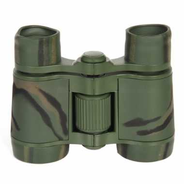 Soldaten verrekijker camouflage