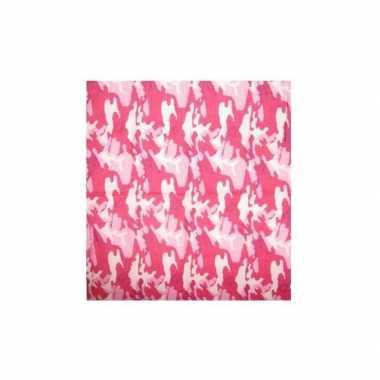 Stoere camouflage print bandana