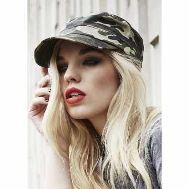 Urban camouflage cap voor volwassenen