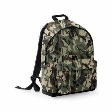 Woodland camouflage rugzak 18 liter