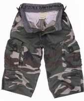 Korte camouflage broek voor kinderen