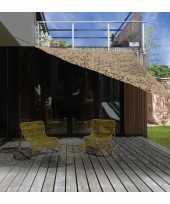 Schaduwdoek zonnescherm driehoek zand camouflage 3 6 meter